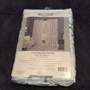 """Other - Willow Drapery - 1 84"""" Panel, new in bag"""
